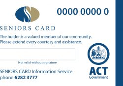 Changes in eligibility age for ACT Seniors Cards preview image