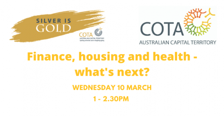 Finance, housing and health – what's next? preview image